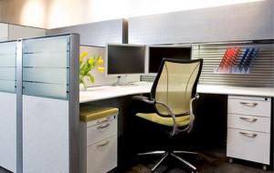 Sáng tạo không gian riêng tại văn phòng làm việc