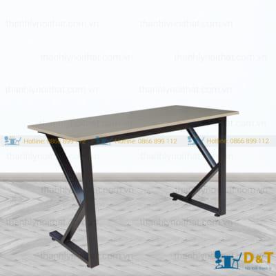 Mẫu bàn chân sắt mặt gỗ đẹp và hiện đại | Bàn văn phòng giá rẻ - 3